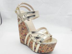 Nouveau design Mesdames Chunk sandales (L'Hcy03-042)