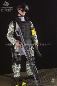 Promoção de uma acção militar personalizado figura