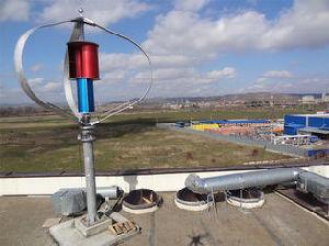 Turbina verticale di energia eolica di asse di CA 220V 1000W
