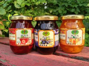 Bol en verre en usine pour la confiture / Canning/ aliments/Pickle bouteille en verre de miel