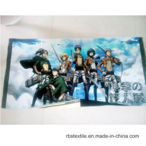 流行3D印刷昇進タオル中国製