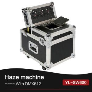 Macchina ascendente dell'opacità del fumo DMX 600watt della nebbia dello spruzzo del partito della discoteca di Hazer