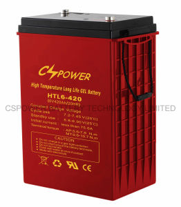 Cspowerの深いサイクルの海兵隊員かフォークリフト電池6V 420ah