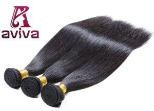 El cabello humano brasileño recto de extensión de la Virgen de Color de Cabello Natural Remy