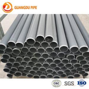 Mejor calidad de UPVC/PVC Tubo de drenaje de riego de abastecimiento de agua