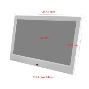 Video automatico del gioco 10.1 riproduttore video dell'affissione a cristalli liquidi Digitahi di pollice con la porta di USB/SD