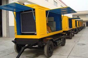Super Silencioso Generador Diesel con motor diesel Cummins de 550 kVA.