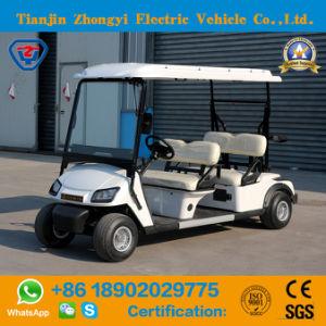 Zhongyi Classic Mini 4 Lugares carrinho de golf eléctricos de baixa velocidade com preço elevado para o Campo de Golfe
