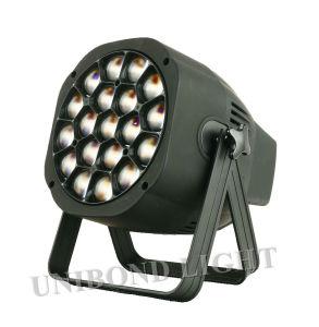 Llevó 19*15W High Power RGBW Beeye 4 en 1 par de la luz de la etapa de la luz de la luz interior y exterior