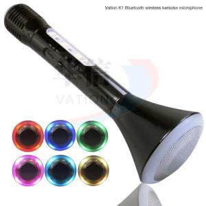 Vation K1 téléphone mobile Bluetooth sans fil Mini Microphone karaoké