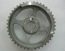 La marcha del motor de motocicleta y el Rotor por metalurgia de polvos