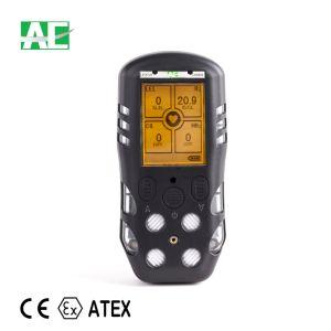 高い感度の証明されるAtexの手持ち型の4ガス探知器