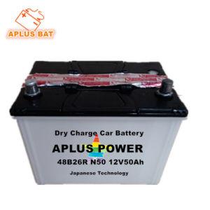 Свинцово-кислотный аккумулятор для хранения сухих авто начиная Аккумулятор 12V 50AH