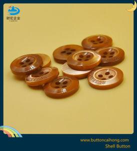 O logotipo personalizado Trocas botões da buzina de Shell para acessórios de vestuário de moda