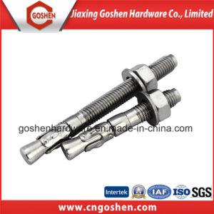 Ancrage de filtre en coin en acier inoxydable de la vis M12x120