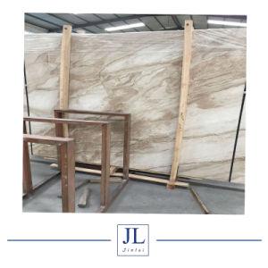 スラブ床のタイルまたは壁のクラッディングの価格の装飾的な石のためのチノのベージュ大理石