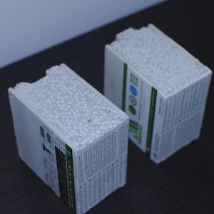 Material da parede de cimento do painel do tipo sanduíche de EPS para o projecto de construção de apartamentos