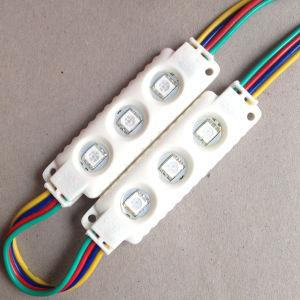 la Alto-Luminosità SMD5050 di 0.72W 3LEDs impermeabilizza il modulo dei segni del LED per i segni/che fanno pubblicità del LED al contrassegno/Lightbox