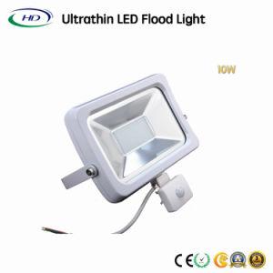 Energiesparendes 10W SMD LED Flut-Licht mit PIR Fühler