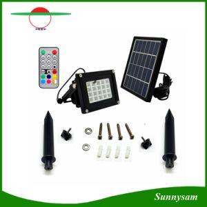 Im Freien 20 Solarflut-Lichter RGB-LED mit Farben-ändernder Beleuchtung
