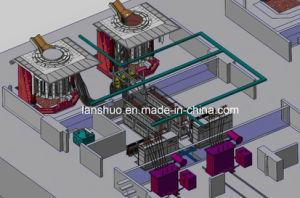 中国の熱い販売の中間の頻度誘導溶ける炉および機械
