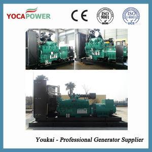 A Cummins 1000kVA abrir o conjunto de geradores de energia elétrica do Motor Diesel