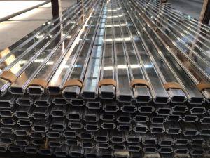 Profilo di lucidatura dell'espulsione della lega di alluminio per il portello e la finestra