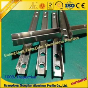 Perfil de aluminio industrial con CNC profunda transformación