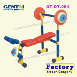 La piccole strumentazione di esercitazione/pedana mobile dei bambini tende la forma fisica