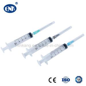 Wegwerfspritze mit Nadel Luer Verschluss 1ml 3ml 5ml 10ml 20ml 30ml 50ml 60ml