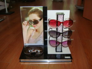 Acrylsonnenbrille-Ausstellungsstand, Eyewear Bildschirmanzeige