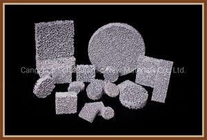 Foundry matériaux céramique de carbure de silicium filtre en mousse pour la coulée