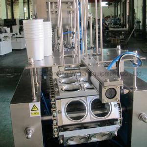 Taça rotativa automática de enchimento e selagem máquina de nivelamento