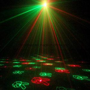 Las luces láser programable 12 en 1 Efecto de los patrones de iluminación de Navidad de interiores