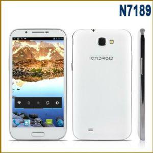 5.5 Viererkabel-Kern-Telefon 1GB RAM Android 4.2 Doppel-SIM GSM+WCDMA Smartphone des Zoll-Stern-N7189 Mtk6589