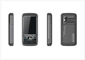 Cartão GSM dupla câmara TV Bluetooth Celular (KY-UM968)