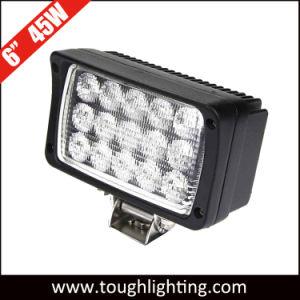 4WD Jeep SUV Iluminação Trilhas 6Rectângulo 45W LED das luzes de trabalho