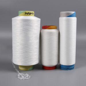 На заводе переработки Grs высокое качество полиэфирной 300/96+70 Acy вязания пряжа для текстильной