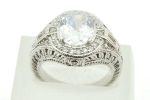 Anello d'argento 925 con lo Zircon (LRG1346)