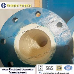강관 물자 시스템에 적용되는 플랜지를 가진 일렬로 세워진 세라믹 관 관