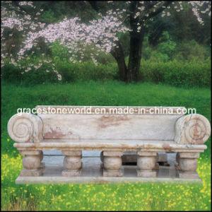 Ornament (GS-TB-003)のためのMarbeの自然な庭Bench
