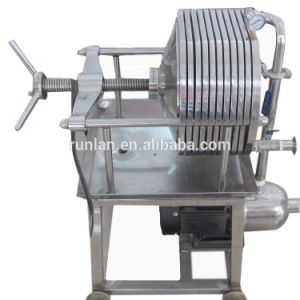 Plaque en acier inoxydable multicouche Filtre presse