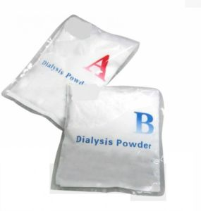 Cartouche de poudre d'hémodialyse/bicarbonate/acide de la poudre de bicarbonate