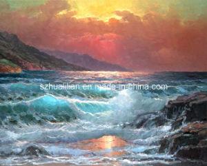 Het Olieverfschilderij S1 van het zeegezicht