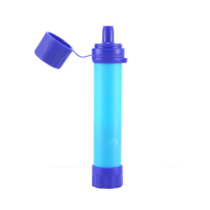 2017 Hot personnel portatif de vente du filtre à eau pour la survie de paille/Extérieur/Camping/de randonnée et voyage