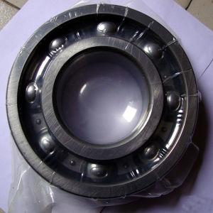 Sulco profundo com o anel elástico do rolamento de esferas 6202n