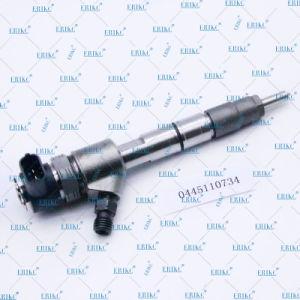 Erikc 0445110734の予備品の自動燃料装置の注入0445 110 734 Boschのディーゼル燃料の注入器アセンブリ0 445 110 734