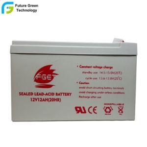 Не нуждается в обслуживании 12V12ah свинцово-кислотного аккумулятора для батареи системы пожарной сигнализации