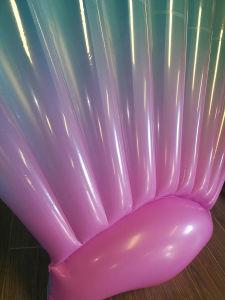 多彩で膨脹可能なシェルのプールの浮遊物