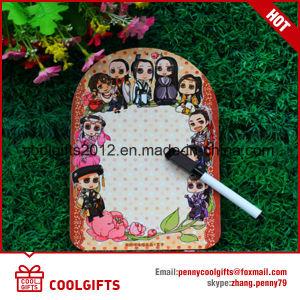Formato Personalizado Magnetic Writting Board /Frigorífico Memo Pad Board